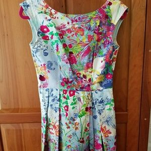 Fit and Flare Dress Size 8/10 by Closet London